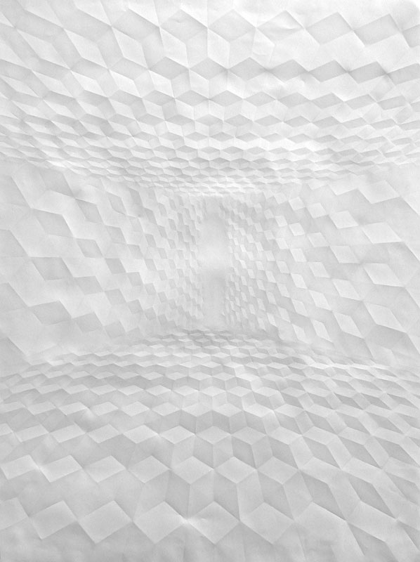 folded paper crease art reliefs simon schubert (10)
