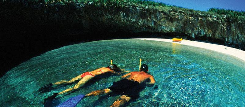 hidden beach marietas islands puerto vallarta mexico (5)