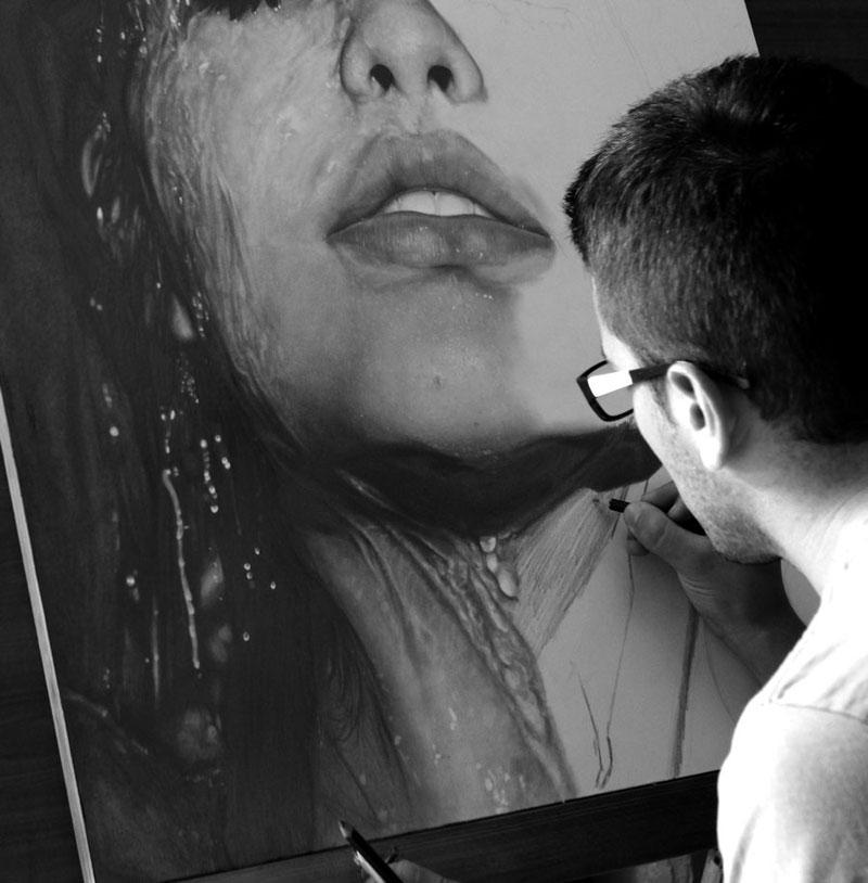 hyperrealistic pencil portraits by diegoKOI art (6)