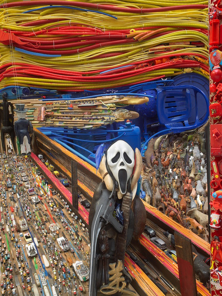 larger than life portraits made from everyday objects anamorphic collages bernard pras (4)