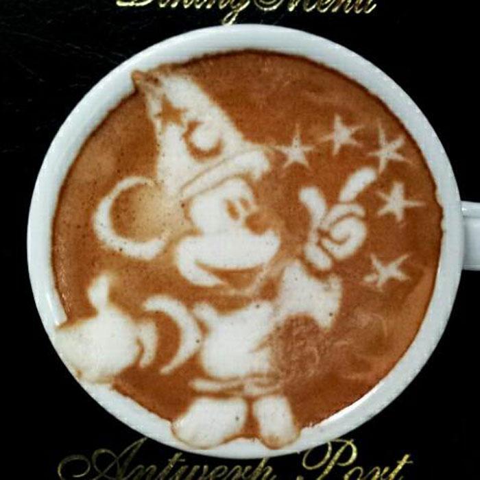 latte coffee art kazuki yamamoto george_10g twitter (3)