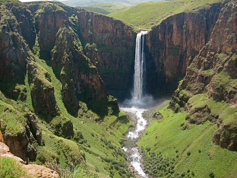 Maletsunyane-Falls-Lesotho-southern-africa