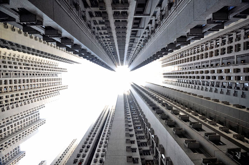 Skyward Photos Capture Hong Kong's Architectural Verticality