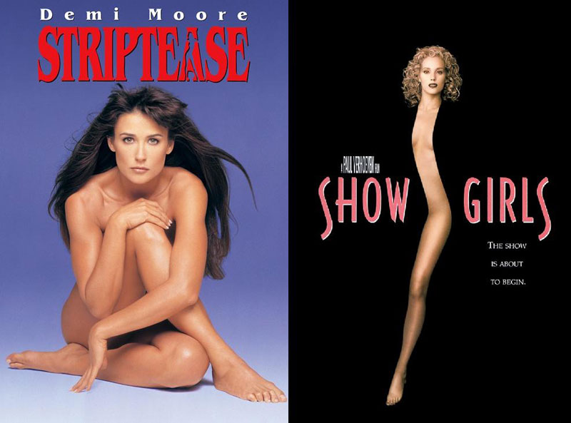 Striptease-(1996)-&-Showgirls-(1995)-