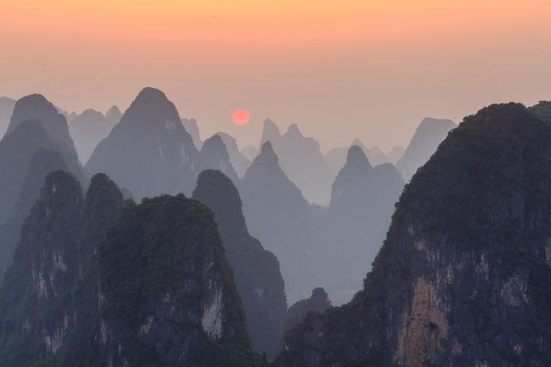 Sunset-at-Li-River