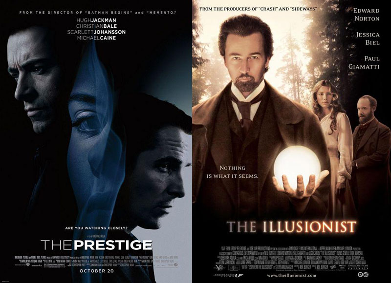 The-Prestige-&-The-Illusionist-2006