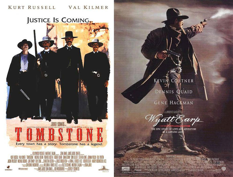 Tombstone-(1993)-&-Wyatt-Earp-(1994)