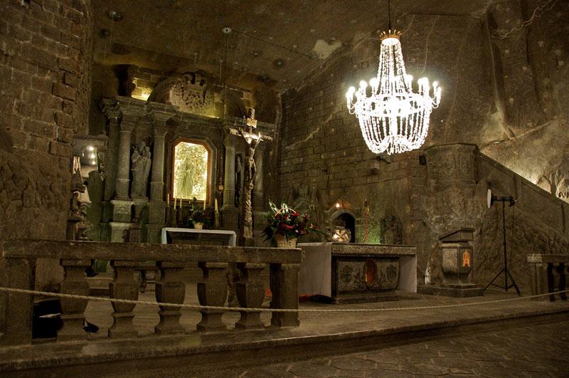 Wieliczka Salt Mine Krakow Poland (12)