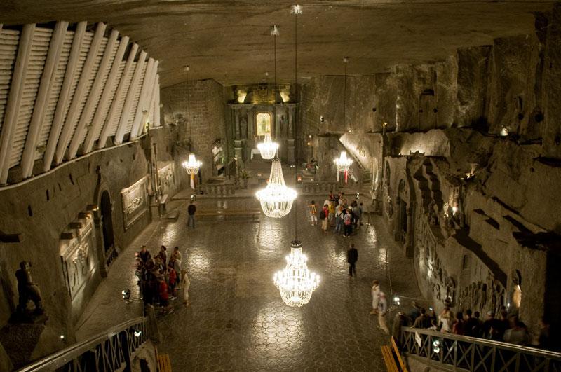 Wieliczka Salt Mine Krakow Poland (5)