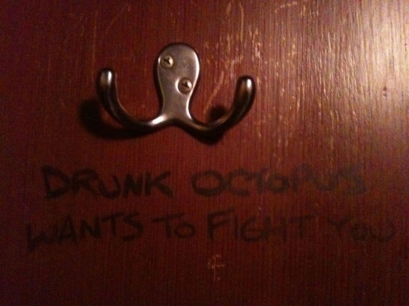 drunk octopus wants to fight you original 50 Faces in Everyday Objects