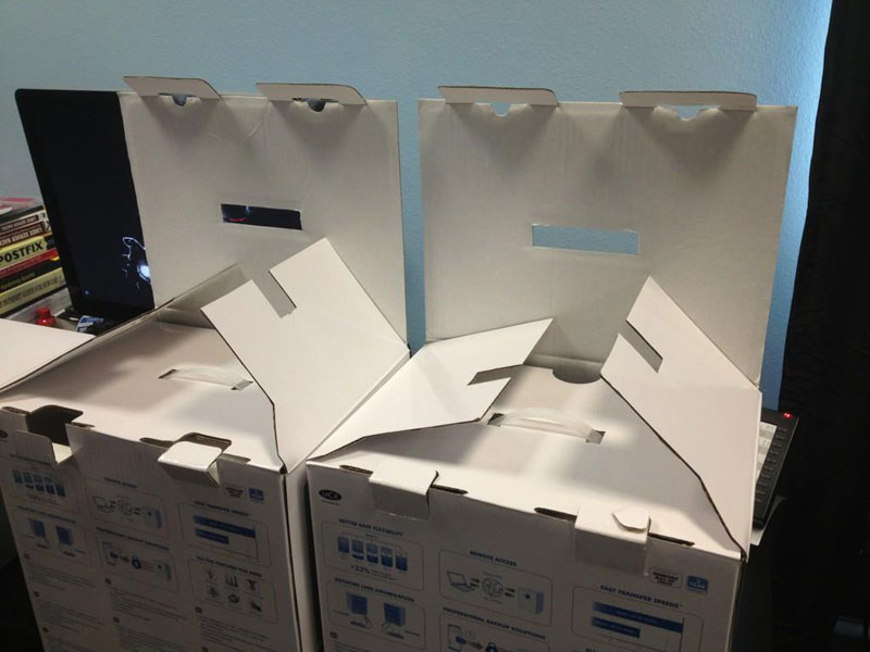 evil boxes plotting 50 Faces in Everyday Objects