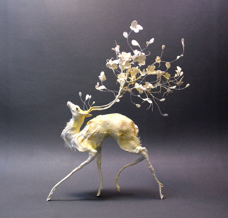 Intricate Handmade Fantasy Creatures by Ellen Jewett