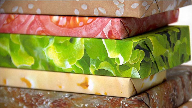 hamburger wrapping paper (3)