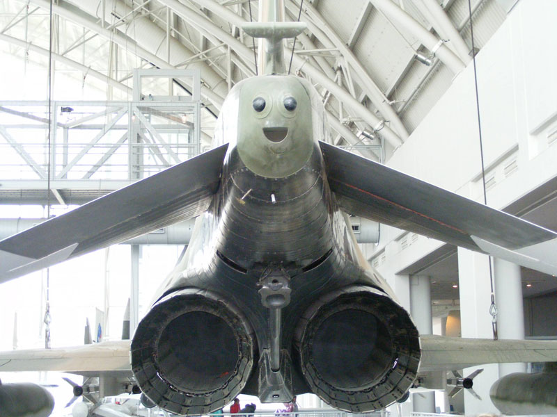 happy plane 50 Faces in Everyday Objects