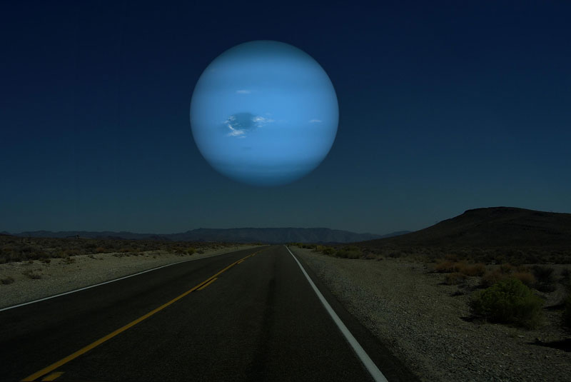 if neptune was as close to earth as the moon What if Other Planets Were as Close to Earth as the Moon?