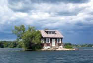 Picture of the Day: Just Room Enough Island
