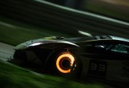 Picture of the Day: Lamborghini Braking at High Speed