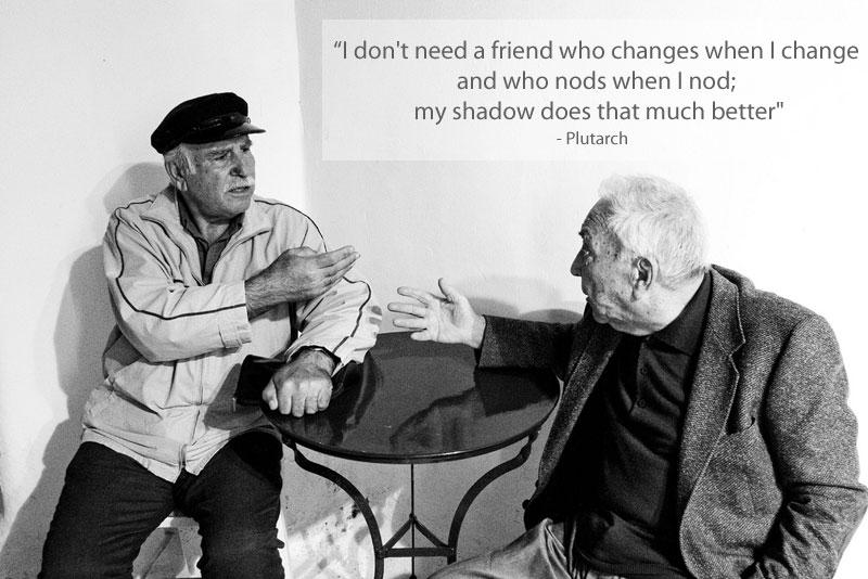 plutarch quote on friendship 15 Famous Quotes on Friendship