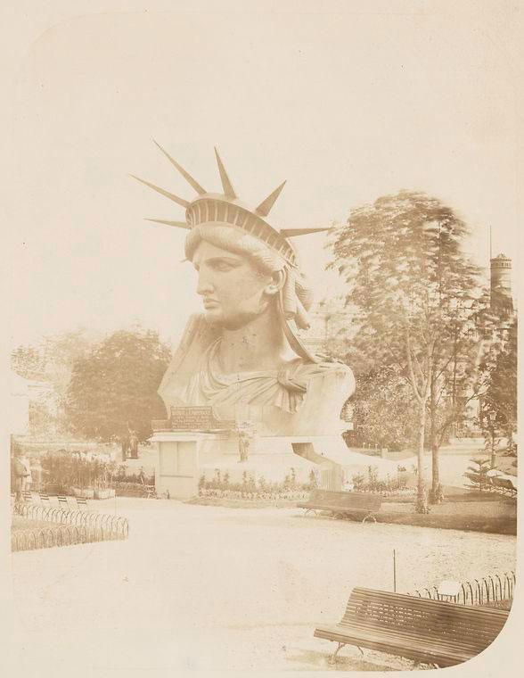 rare photos statue of liberty under construction 1883 (11)