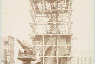 Rare Photos of the Statue of Liberty Being Built in 1883