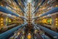 Hypnotic Views of the Sagrada Familia Ceiling by Clement Celma