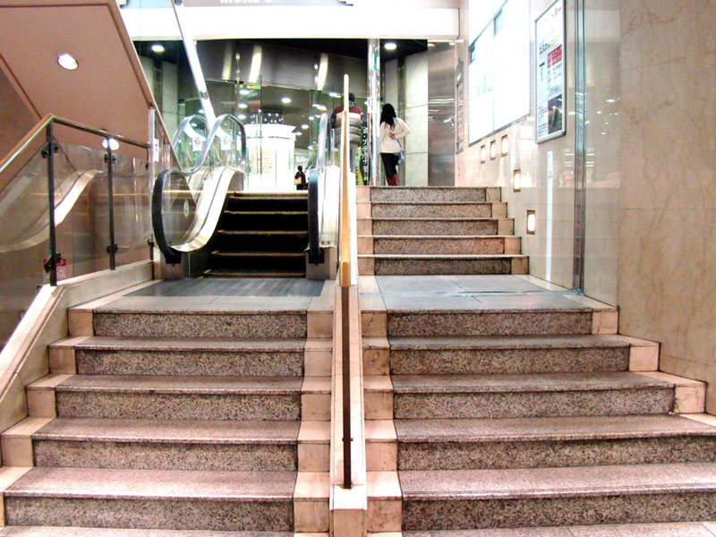 Picture of the Day: World's Shortest Escalator