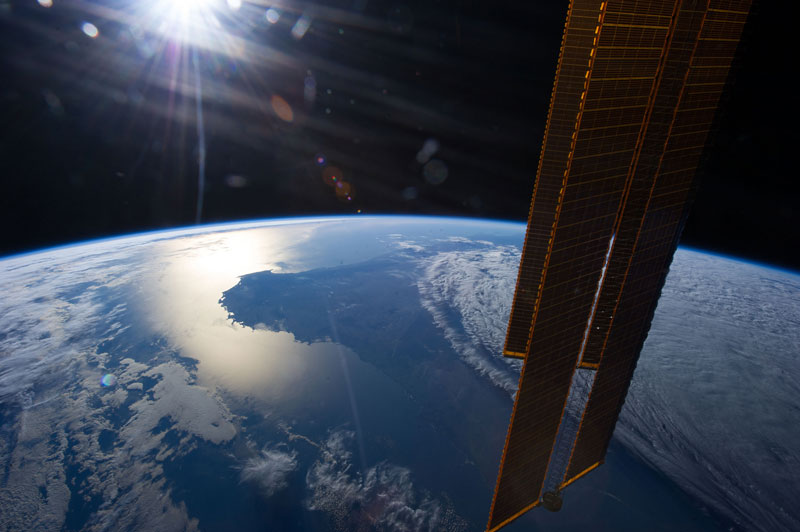 Picture of the Day: Australian Sunset from Space