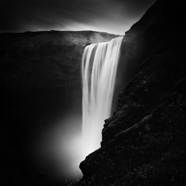 Photo Tour of Iceland in Black and White