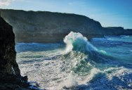 Picture of the Day: Crashing Waves in the Caribbean