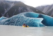 Picture of the Day: Dark Blue Bottom of an Iceberg