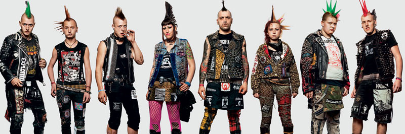 fans emulating idols at concerts the casualties james mollison the disciples