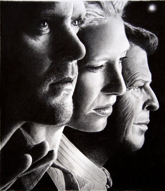 fringe by francoclun d59utwr Hyperrealistic Portraits Drawn with Pencil