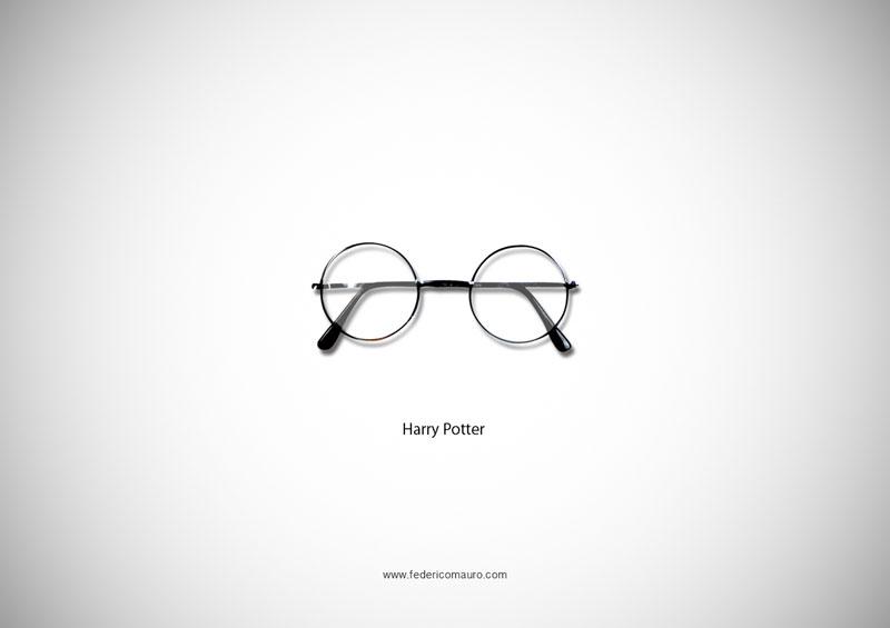 harry potter glasses 15 Famous Eyeglasses