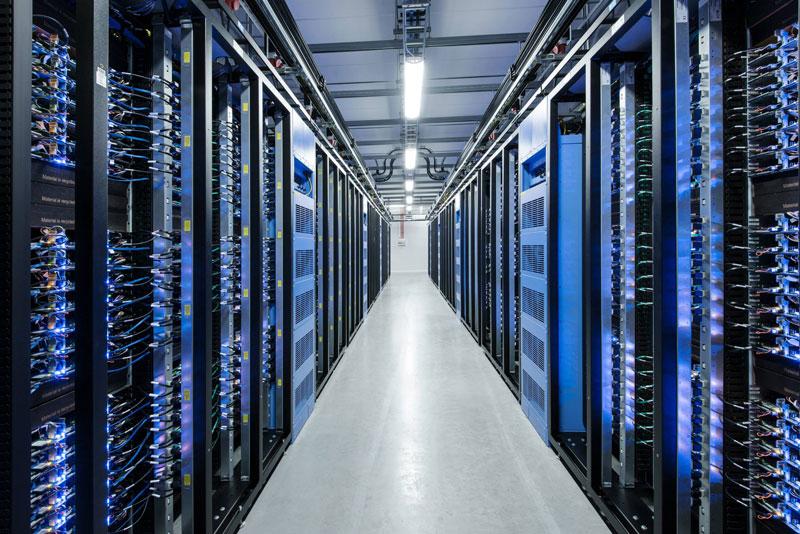 Inside Facebook's Data Center Near the Arctic Circle