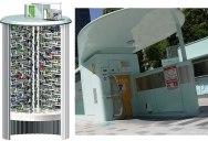 Japan's Automated Underground Bike Storage
