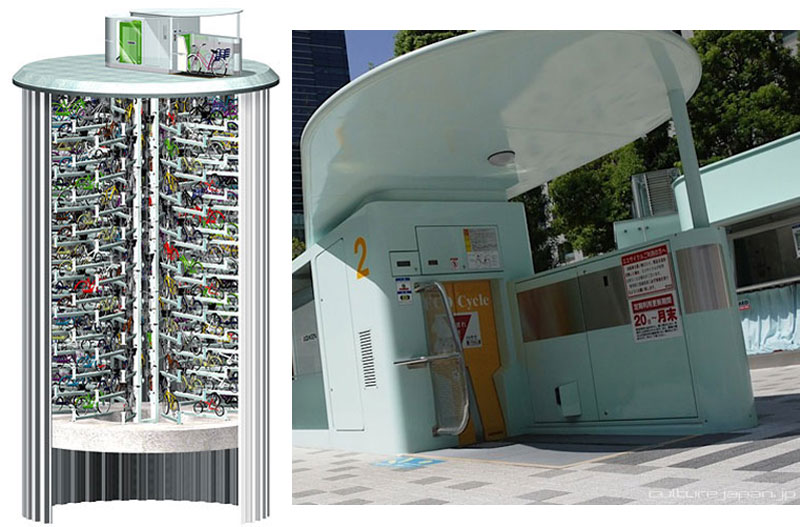 japan underground bike storage parking system by giken 16 Could This Be the 3D Printed Cast of the Future?