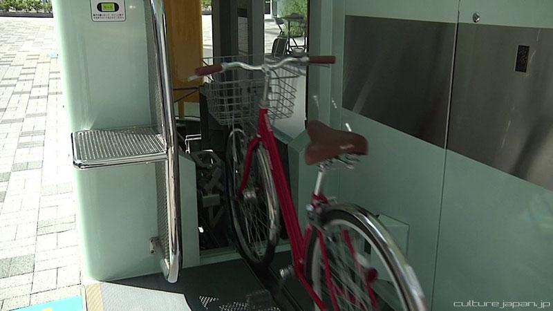 japan underground bike storage parking system by giken (9)