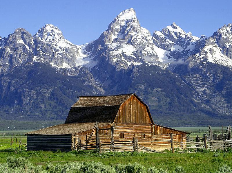 john moulton barn mormon row grand tetons wyoming