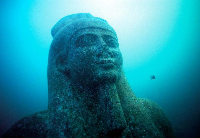 lost city of heracleion egypt franck goddio 1 Stunning 2200 Year Old Mosaics Discovered in Ancient Greek City