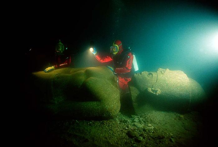 lost city of heracleion egypt franck goddio 4 This 240 year old Machine is an Ancestor to the Modern Computer