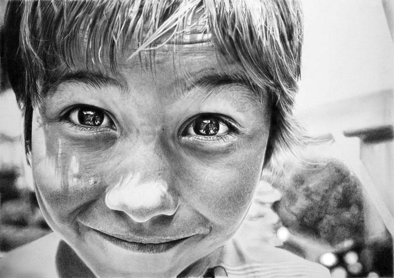 monnalisa by francoclun d51vm6l Hyperrealistic Portraits Drawn with Pencil