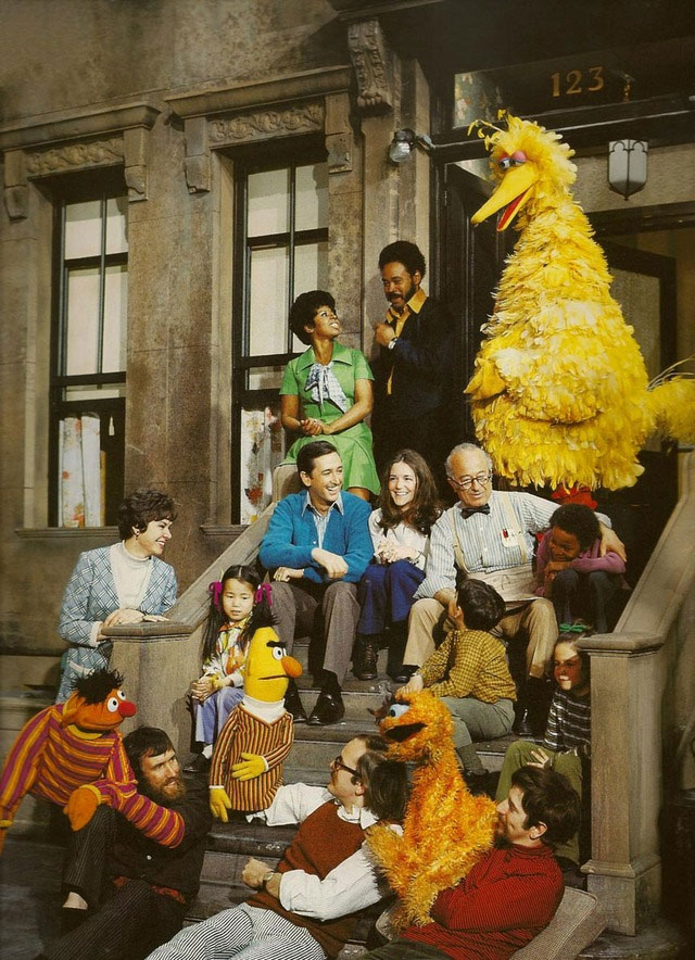 original sesame street cast Picture of the Day: The Original Cast of Sesame Street