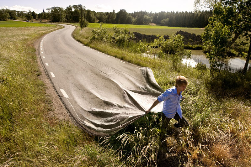 surreal photo manipulations by erik johansson 15 Jane Long Colorizes Old Photos and Adds a Surreal Twist to Them