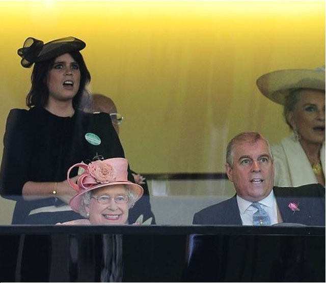 the queen after her horse won at the royal ascot The Shirk Report   Volume 219