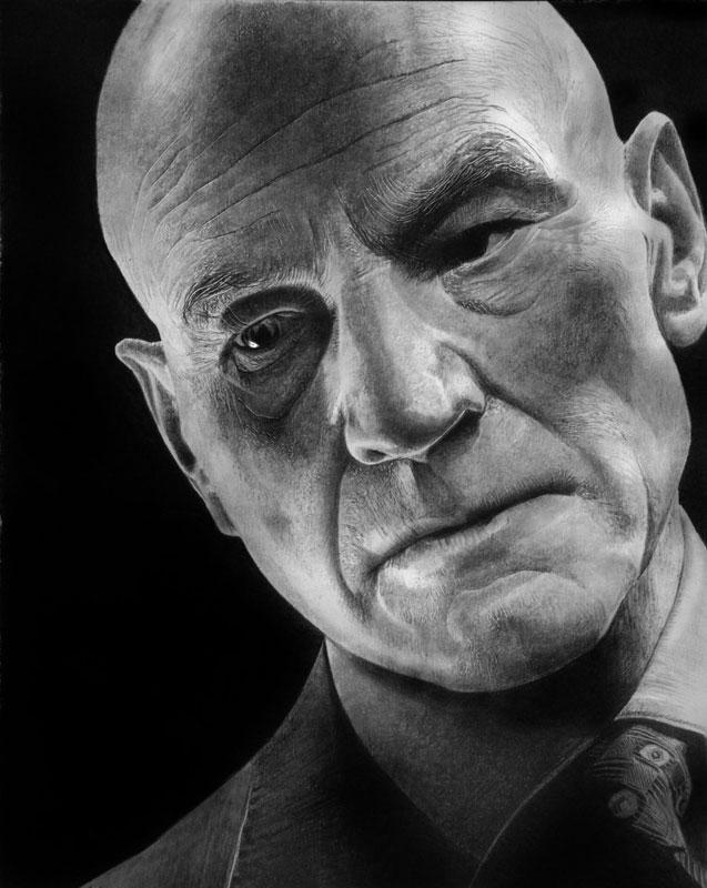 xavier by francoclun d51d5gf Hyperrealistic Portraits Drawn with Pencil