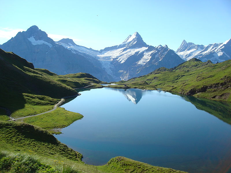 Bachalpsee bachse lake switzerland