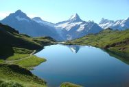 Picture of the Day: A Lake in the Mountains