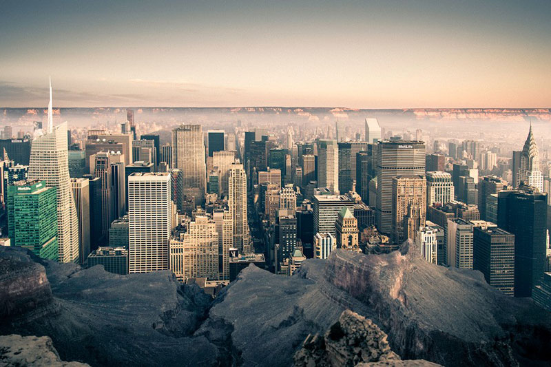 manhattan new york inside the grand canyon by gus petro (5)