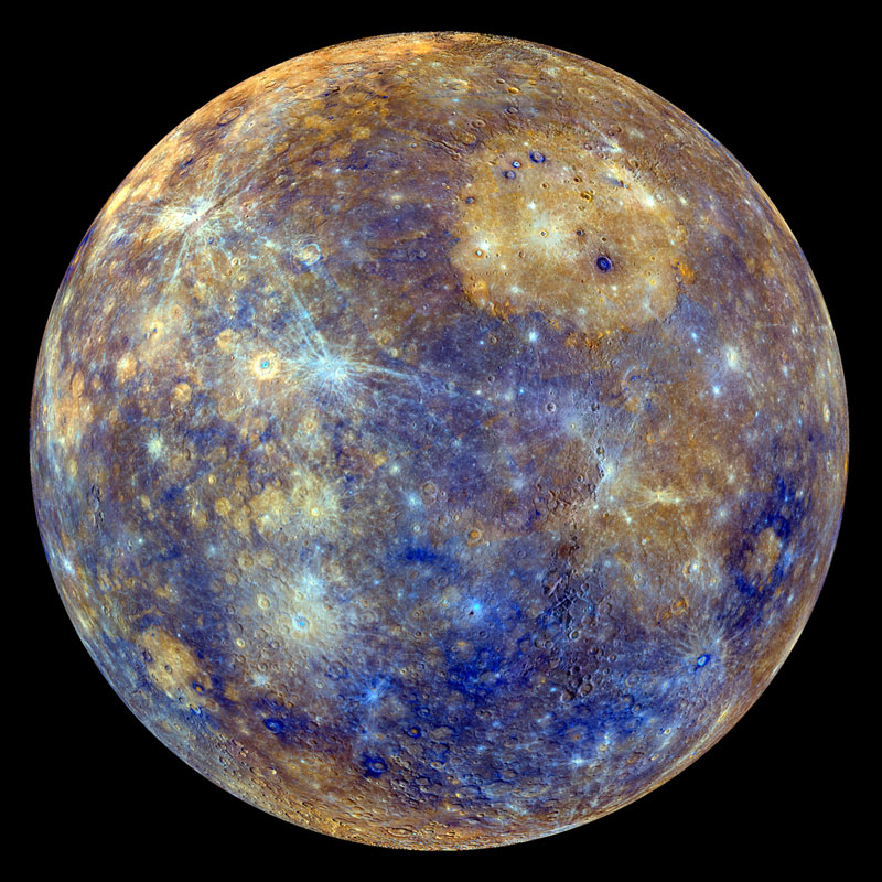 mercury Picture of the Day: Planet Mercury