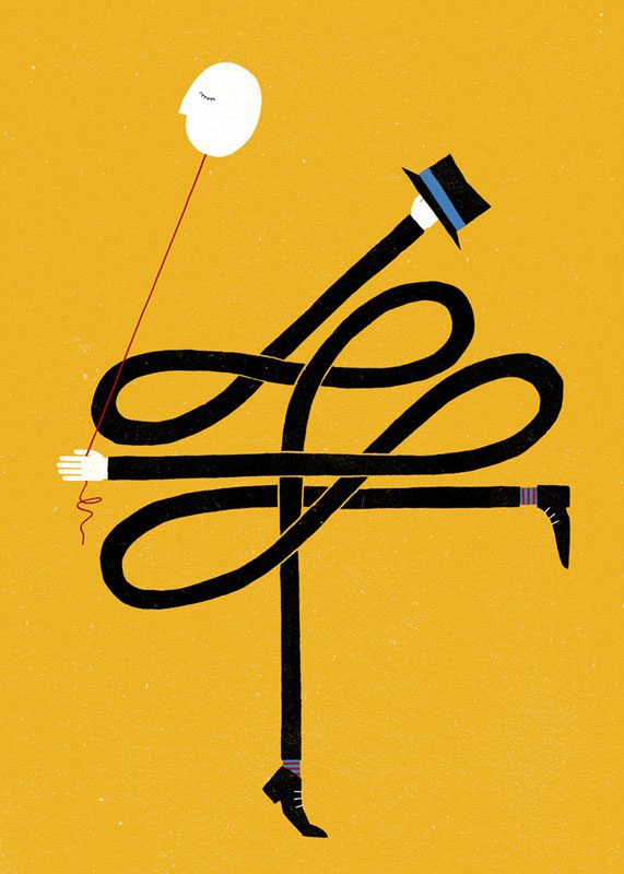 Tarantism Illustrations of Strange and Unusual Words by the project twins